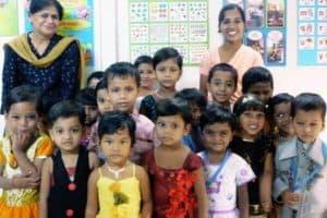 Building Life Values in children through Teachers