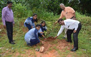 Vanamahotsva celebration at Sharada Vidhyaniketan PU College, Talapady